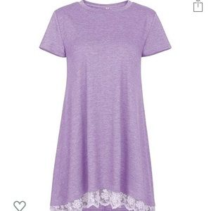 Tops - Short sleeve Tunic with Lace